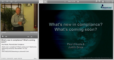 Webcast: What's new in compliance? What's coming soon?